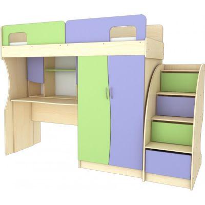 Детская стенка с кроватью Карлсон