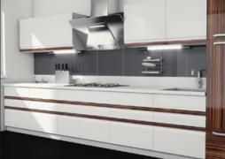 Кухня прямая,  проект Марлен
