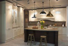 Кухня остров из массива, Прованс