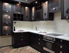 Кухня угловая из массива, проект Шанхай