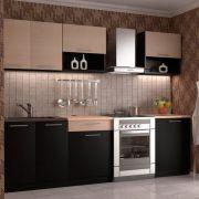 Кухня прямая, МДФ Пленка