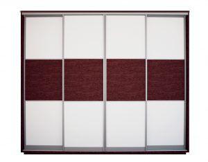 Шкаф - купе, четырехдверный, артикул:123483